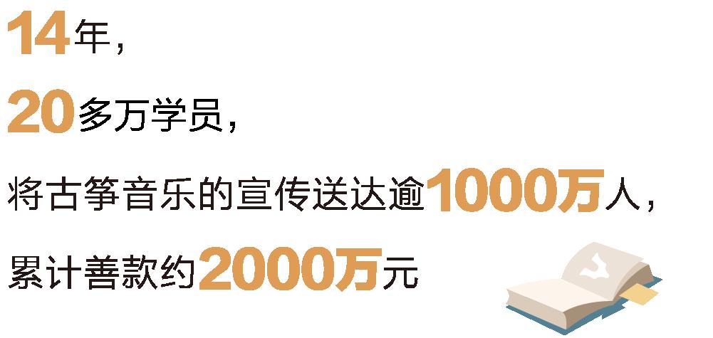 12年,近20萬學員,將古箏音樂的宣傳送達逾1000萬人