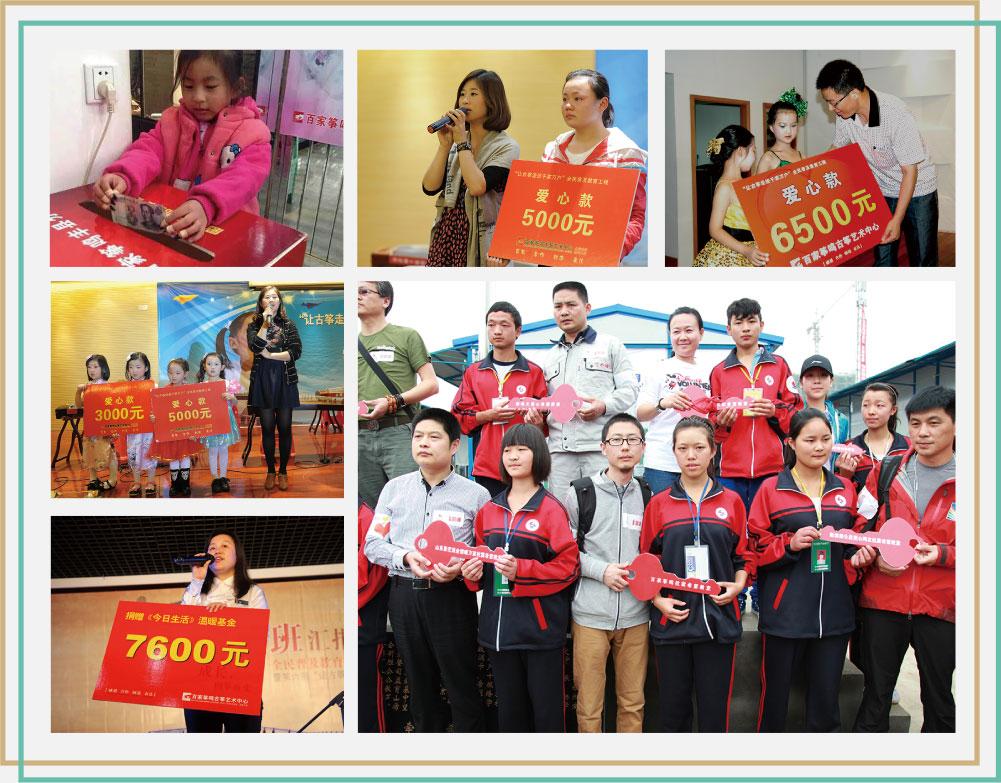 中國青少年發展基金會及其它各類慈善組織
